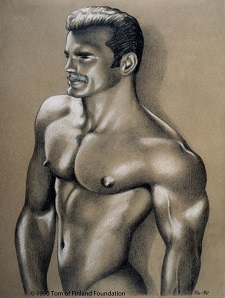 Tom Of Finland Drawing 1990