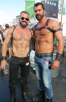 Folsom 2013 Bare Chest Hunks