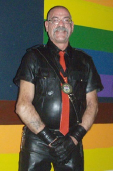Great Lakes Olympus Leather 2014 Sir Bear Abbott. Photo by Ruff Estes