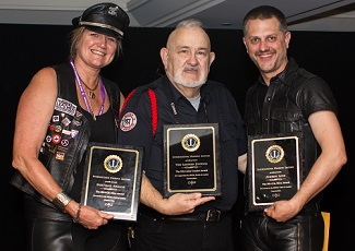 Mistress Cyan Presented Community Service Awards By Jeff Koast